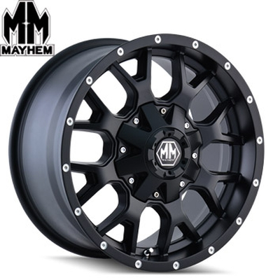 Mayhem 8015 Warrior Matte Black