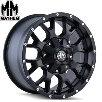 Mayhem 8015 Warrior Matte Black