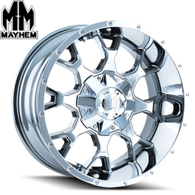 Mayhem 8015 Warrior PVD Chrome