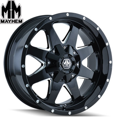 Mayhem 8040 Tank Satin Black Milled