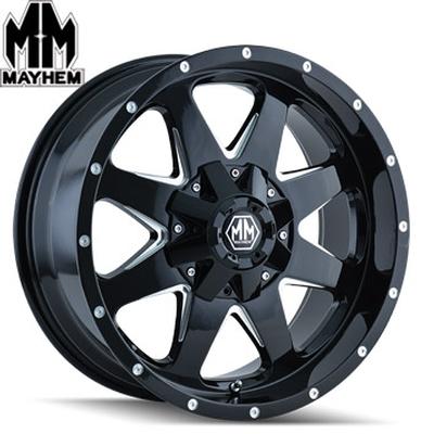 Mayhem 8040 Tank Satin Black Milled