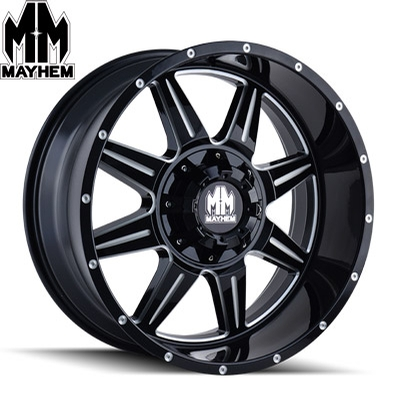 Mayhem 8100 Monstir Satin Black Milled