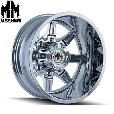 Mayhem 8101 Monstir Dually Chrome Rear