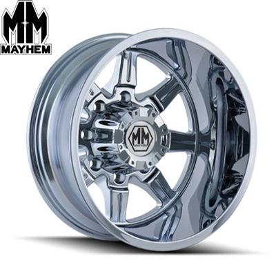 Mayhem 8101 Monstir Dually Chrome Rear
