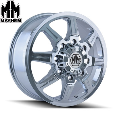 Mayhem 8101 Monstir Dually Chrome Front