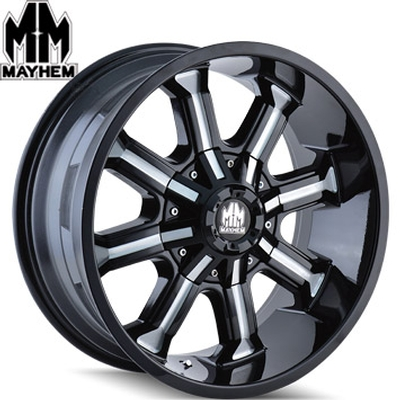 Mayhem 8102 Beast Satin Black Milled