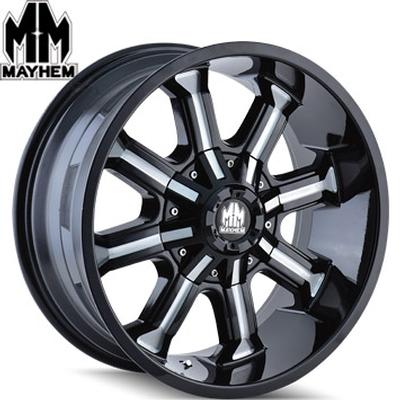 Mayhem 8102 Beast Satin Black Milled