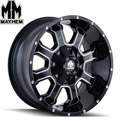 Mayhem 8103 Fierce Satin Black Milled