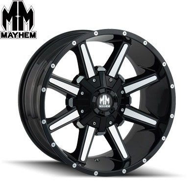 Mayhem 8104 Arsenal Black Machined