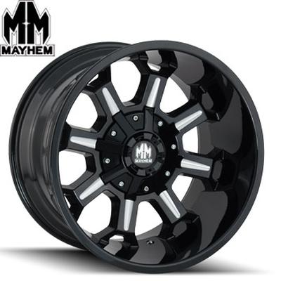 Mayhem 8105 Combat Satin Black Milled