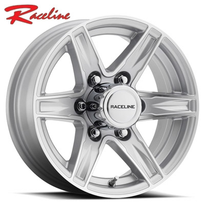Raceline 810 Stylus Trailer Silver Machined