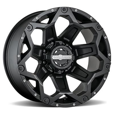 Worx 812 Clash Satin Black
