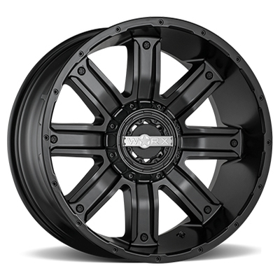 Worx 813 Destroyer Satin Black 5-6 Lug