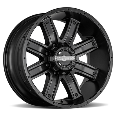 Worx 813 Destroyer Satin Black 8-Lug