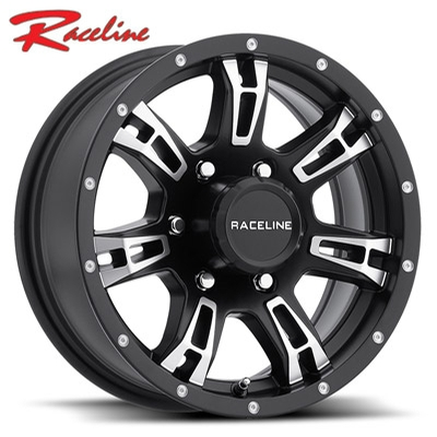 Raceline 840 Arsenal Trailer Gloss Black Machined