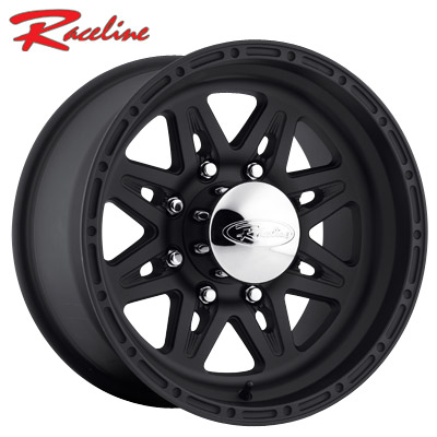 Raceline 892 Renegade 8 Black