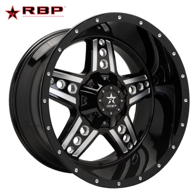 RBP RBP 90R Colt Gloss Black Milled