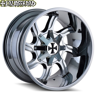 CaliOffroad 9102 Twisted PVD Chrome
