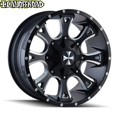CaliOffroad 9103 Anarchy Satin Black Milled