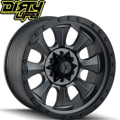 Dirty Life 9300 IronMan Matte Black