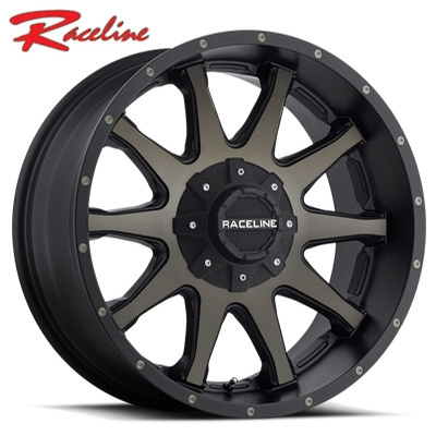 Raceline 930DM Shift Satin Blk Machined w/Dark Tint