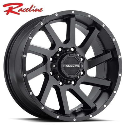 Raceline 932B Twist Satin Black