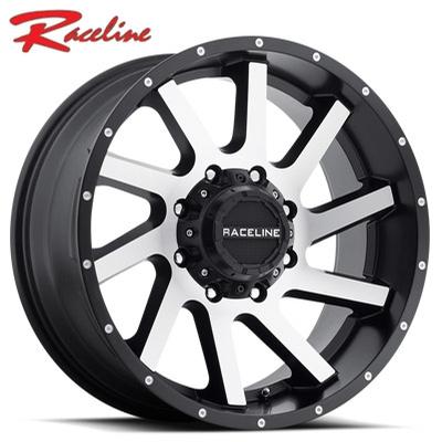 Raceline 932M Twist Machined w/Satin Black
