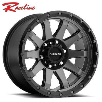 Raceline 934G Clutch Gunmetal w/Black Ring