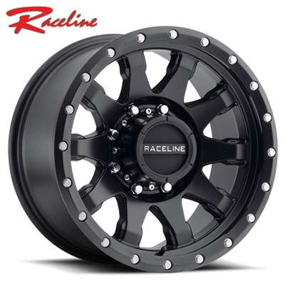 Raceline 934B Clutch Satin Black