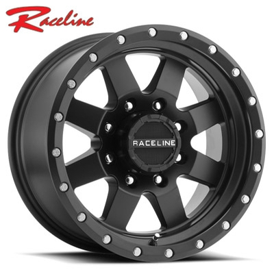 Raceline 935B Defender Satin Black