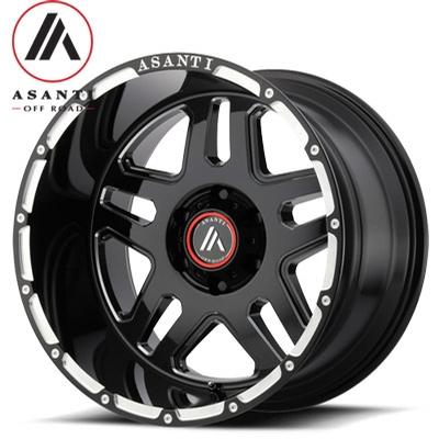 Asanti OffRoad AB809 Impact Gloss Black Milled