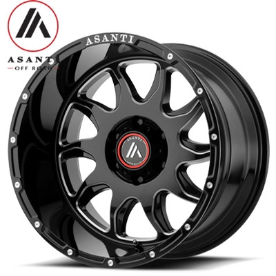Asanti OffRoad AB810 Blade Gloss Black Milled