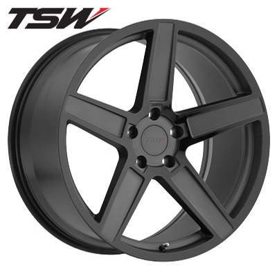 TSW Ascent Matte Gunmetal w/Gloss Blk Face