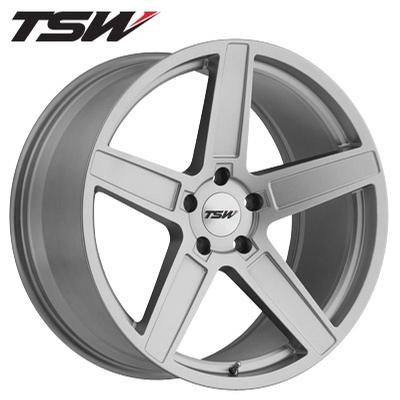 TSW Ascent Matte Titanium Silver