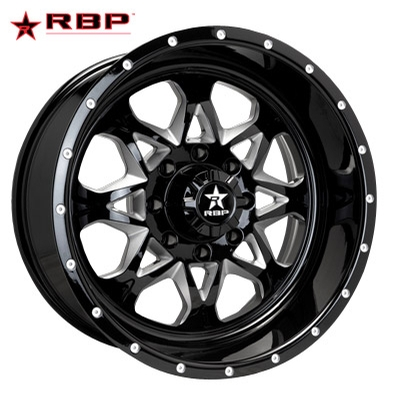 RBP RBP Assault 1-PC Forged Monoblock Gloss Blk Machined