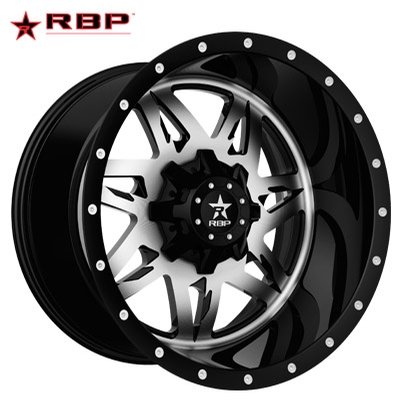 RBP RBP Avenger 1-PC Forged Monoblock Machined Black
