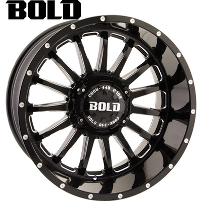 BOLD Off Road BOLD Off Road BD002 Gloss Blk Milled