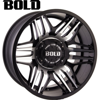 BOLD Off Road BOLD Off Road BD003 Flat Blk Milled