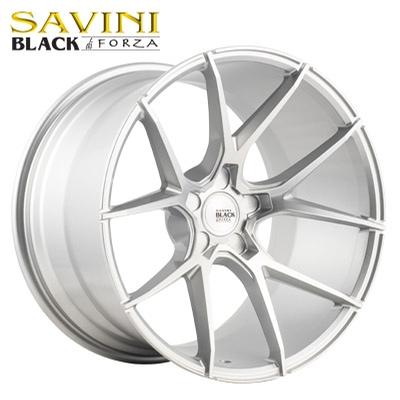 Savini Black BM-14 Brushed Silver