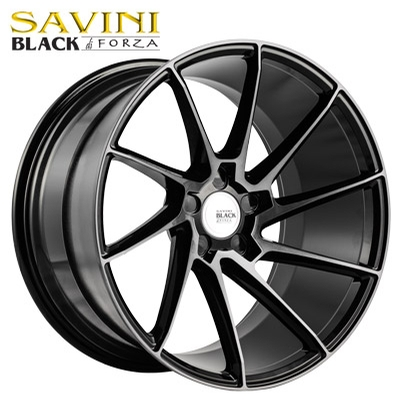 Savini Black BM-15 Gloss Black w/Dark Tint