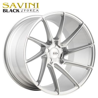 Savini Black BM-15 Brushed Silver