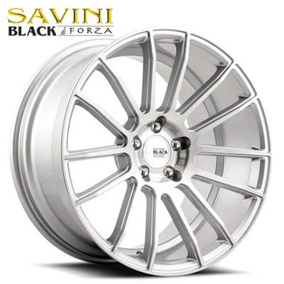 Savini Black BM-09 Brushed Silver