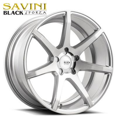 Savini Black BM-10 Brushed Silver
