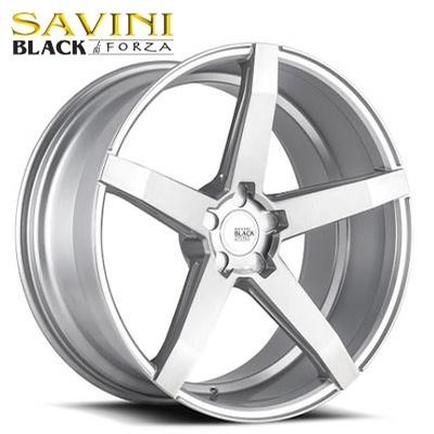 Savini Black BM-11 Brushed Silver