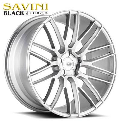Savini Black BM-13 Brushed Silver