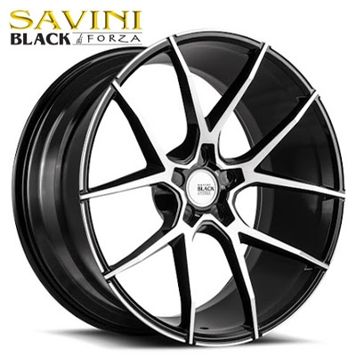 Savini Black BM-14 Machined Black