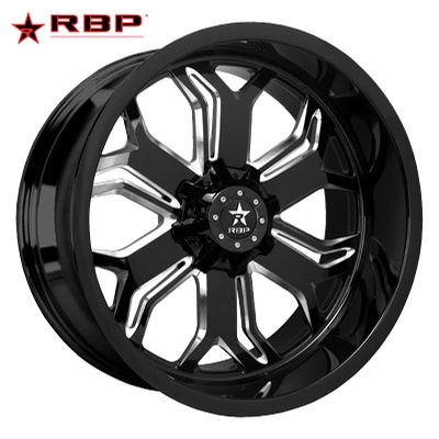 RBP RBP Blade 1-PC Forged Monoblock Blk Machined