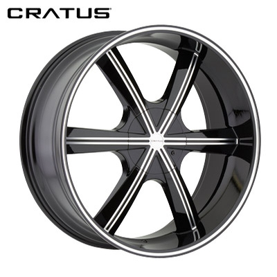 Cratus CR007 Gloss Black Machined