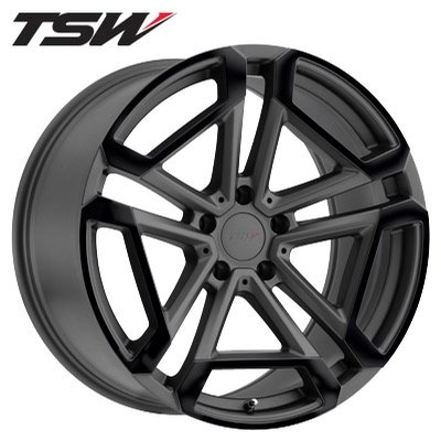 TSW Circut RF Matte Gunmetal w/Gloss Black Face