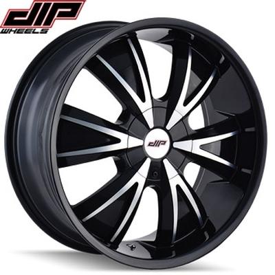 Dip D38 Vibe Gloss Black Machined